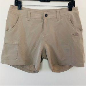 The North Face Shorts Tan Beige Khaki Women Size 8